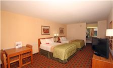 Hotel Rooms in Wytheville - Double Bedroom
