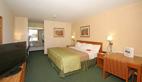 Ramada Wytheville 1 King Bed Room