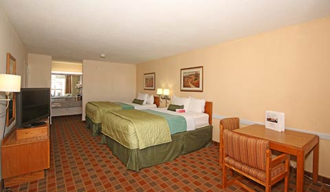 Ramada Wytheville 2 Double Beds Pet Friendly Room